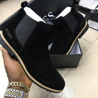 Hugo Boss Chelsea boots