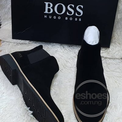 Hugo boss Suede Chelsea boots