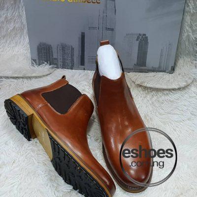 Renato Dulbecc Leather Chelsea Boots