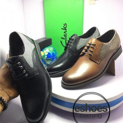 Clarks Lace-up dress shoe