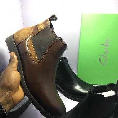 Clarks Chelsea Boots (Touch of Suede)