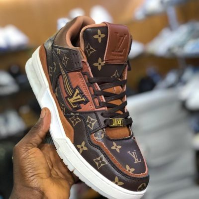 LV high top sneakers